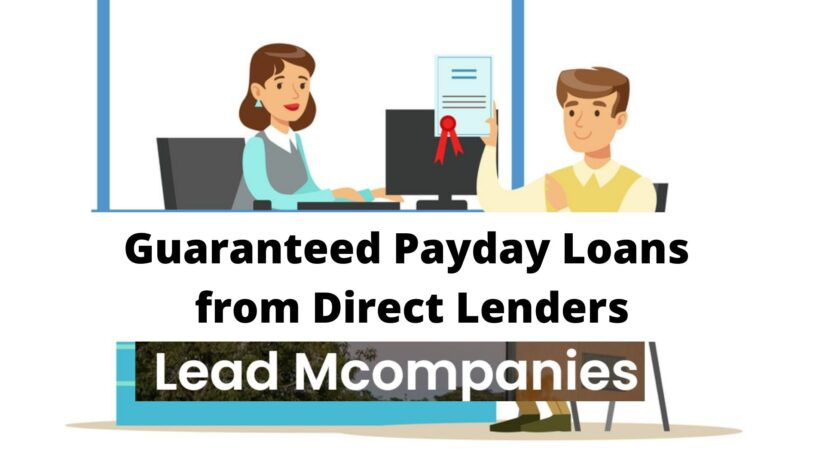 Get Guaranteed Approval for Payday Loans from Direct Lenders